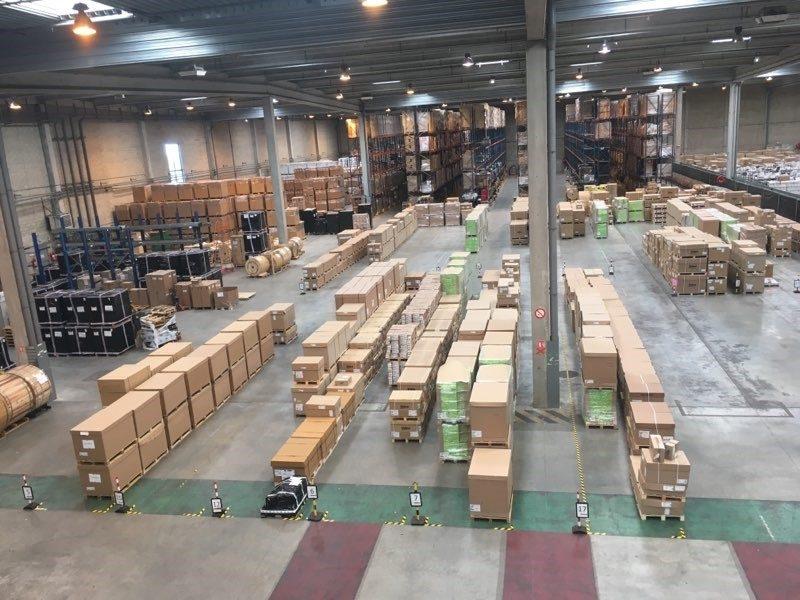 Veolog entrepôt de Saint-Ouen l'Aumône