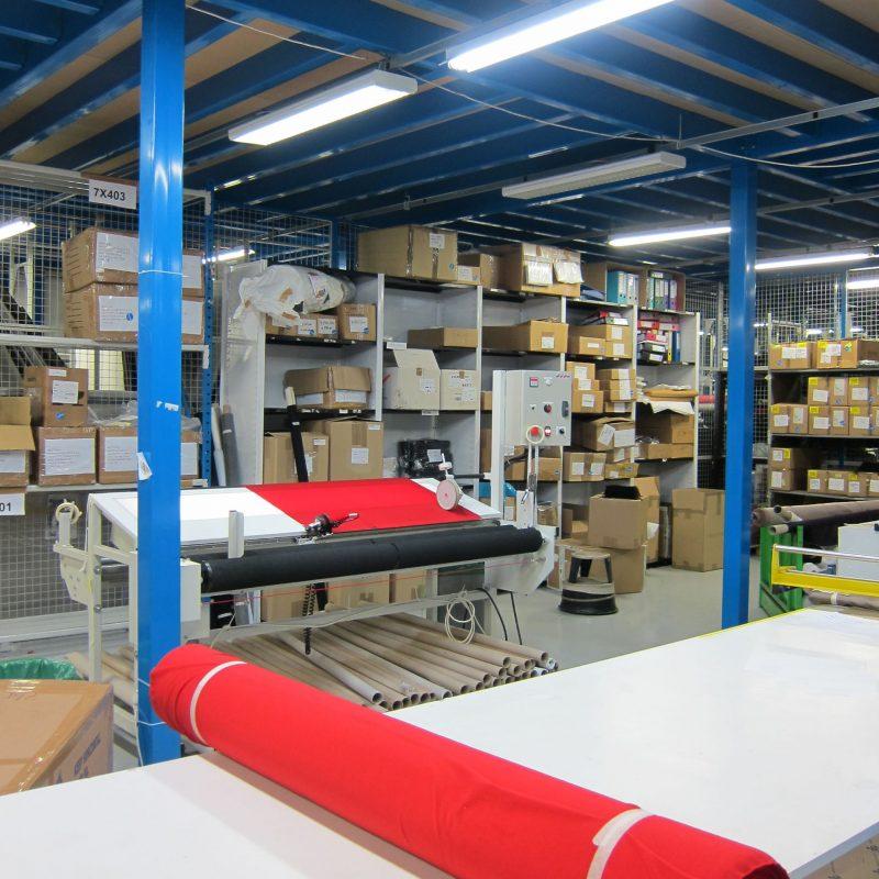 Stockage textile